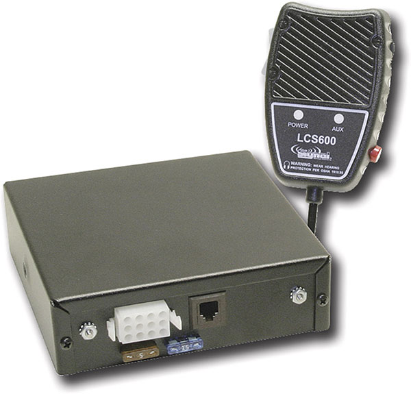 LCS600 lcs600 pa air horn aux security mic 100 watt siren for police Emi Wiring Diagram at readyjetset.co