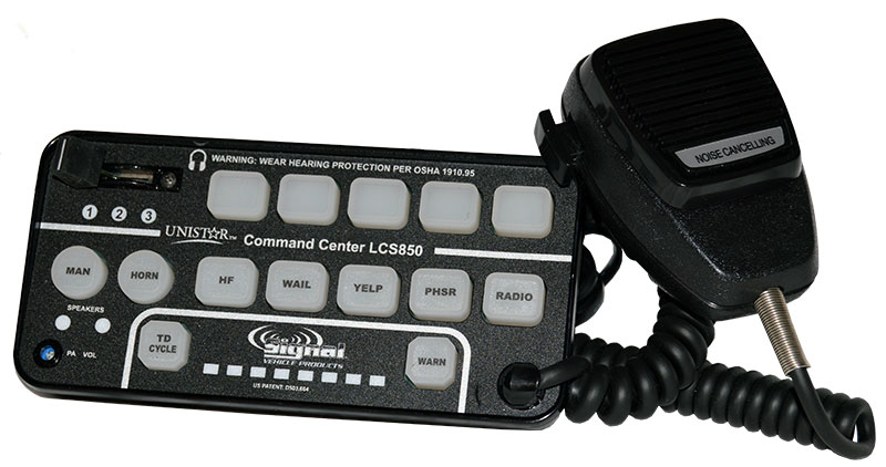 Lcs800 Amp Lcs850 Command Center 200 Watt Sirens For Police