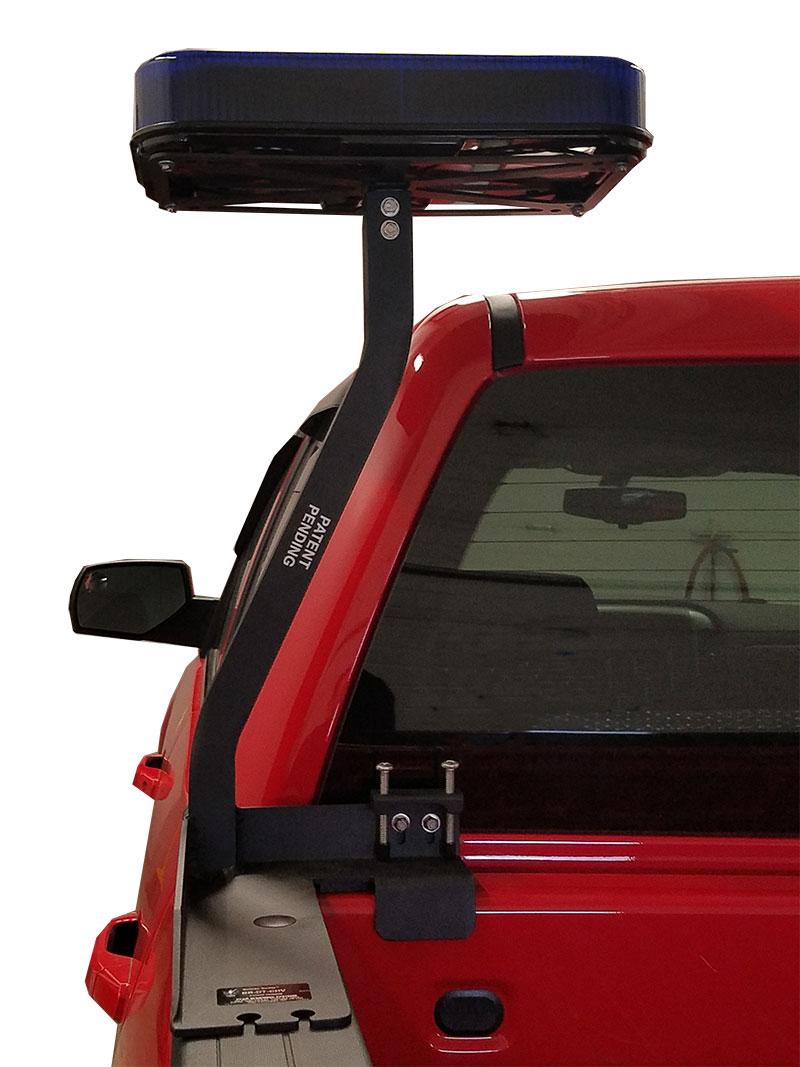Police Led Lights >> Pick-Up Stake Bed Post for Light for Police, Fire, Emergency Vehicle Warning Systems, D.O.T ...